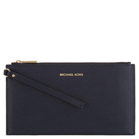 Mercer Leather Pouch Navy