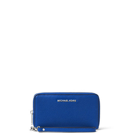 Mercer Leather Smartphone Wristlet Blue