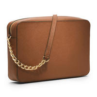 Jet Set Travel Crossbody Bag Brown