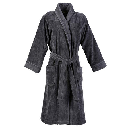 Luxury Egyptian Robe Grey