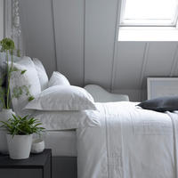 Corinth White Coordinated Bedding Set White