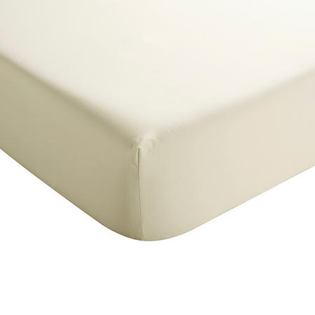 Sateen Fitted Sheet Gold-Tone