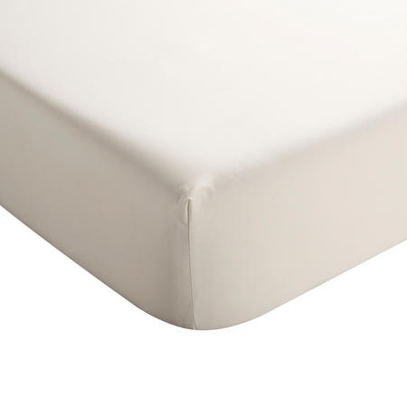 Sateen Linen Fitted Sheet