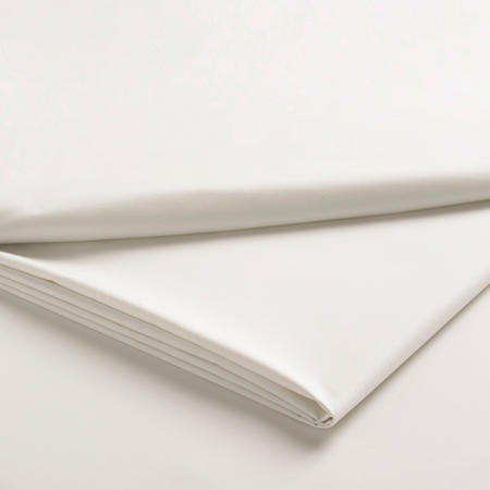 Sateen Ivory Flat Sheet
