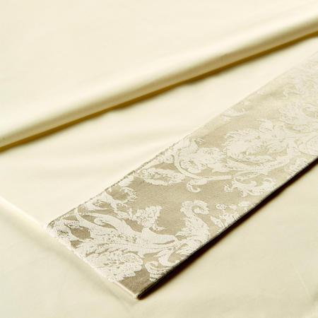 Serena Linen Flat Sheet Beige