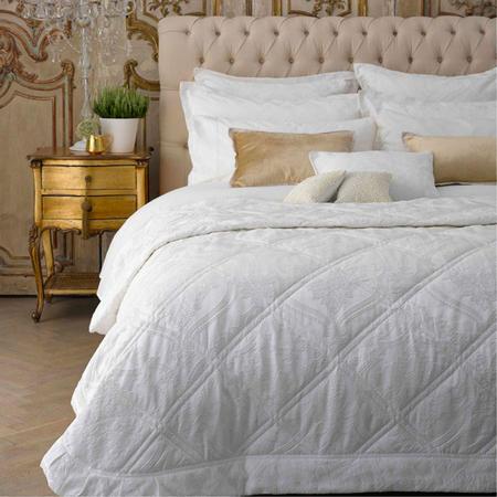 Rochester Bedspread Warm White