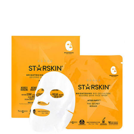 After Party Brightening Bio Cellulose Second Skin Face Mask