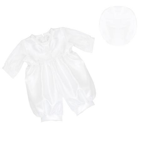 Christening Romper Suit White