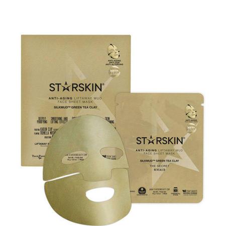 SILKMUD™ Green Tea Clay Anti-Aging Liftaway Mud Face Sheet