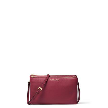 Adele Top Zip Crossbody Bag Purple