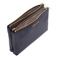 Adele Top Zip Crossbody Bag Blue