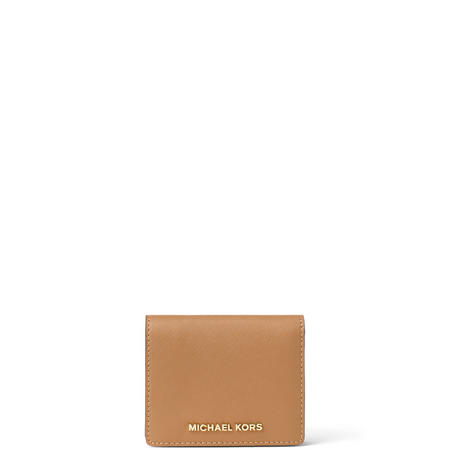 Jet Set Billfold Wallet Brown