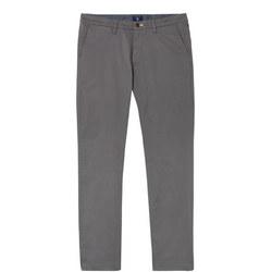 Slim Fit Twill Chinos Grey