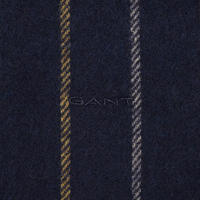 Multi-Stripe Scarf Navy