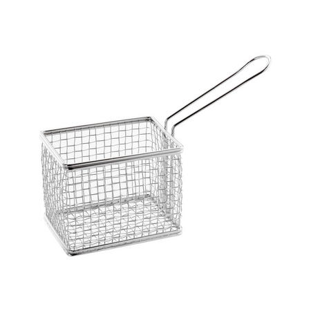 Mini Chip Basket Stainless Steel