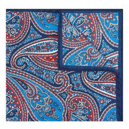 Paisley Pocket Square Multicolour