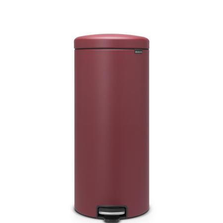 30 Litre Pedal Bin Mineral Windsor Red
