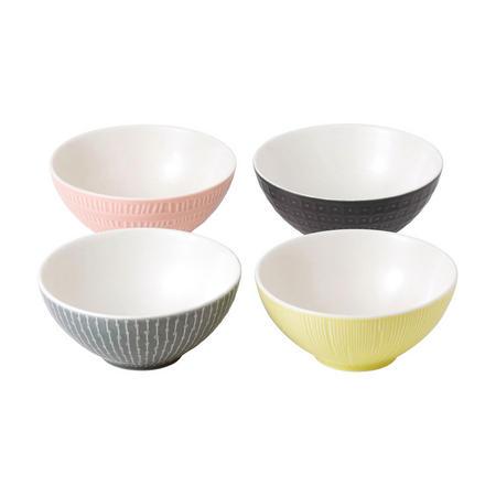 Hemingway Set of 4 Cereal Bowls Multicolour