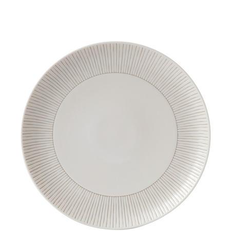 Ellen Degeneres 28cm Plate Taupe Stripe