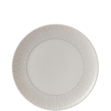Ellen Degeneres 21cm Plate Taupe Stripe