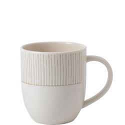 Ellen Degeneres Mug Taupe Stripe
