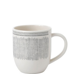 Ellen Degeneres Mug Charcoal Grey Lines
