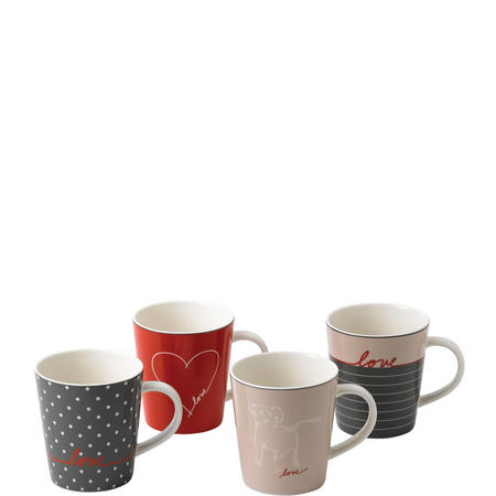 Ellen Degeneres Signature Mug Set of 4