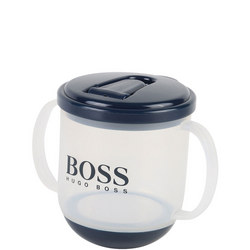 Logo Sippy Cup Navy
