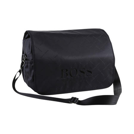 Logo Changing Bag Navy