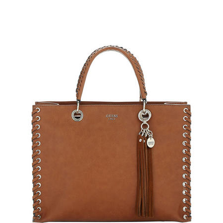 Fynn Laced Shopper Bag Brown