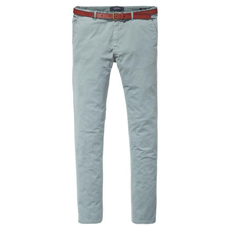 Garment Dyed Chino Trousers Multicolour