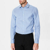 Mark Long Sleeve Shirt Blue