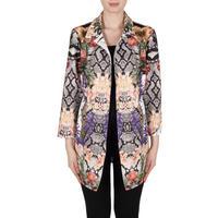 Multi-Print Zip Front Jacket Multicolour