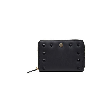 Liverpool Street Medium Stud Wallet  Black