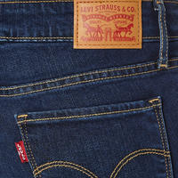 711 Mid Rise Skinny Jeans Blue