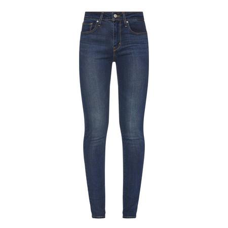 721 High-Rise Skinny Jeans Blue