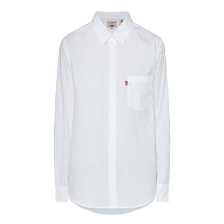 Sidney One-Pocket Shirt White