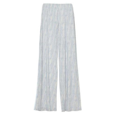 Diamond Maze Pyjama Pants Blue