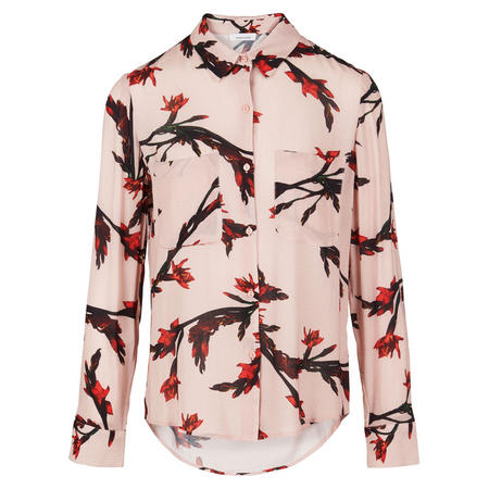 Milly Floral Shirt Blouse Pink