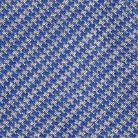 Herringbone Motif Tie Blue