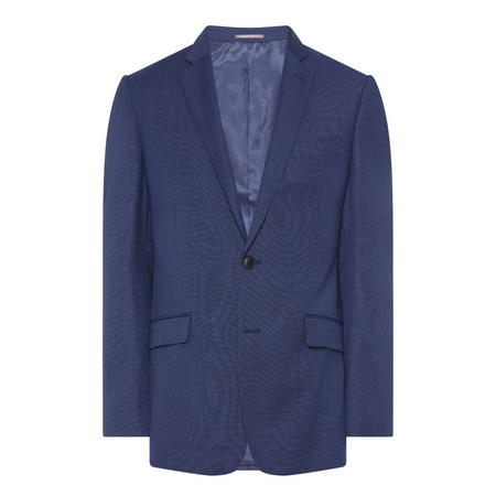 Pin Dot Oliver Suit Jacket Navy