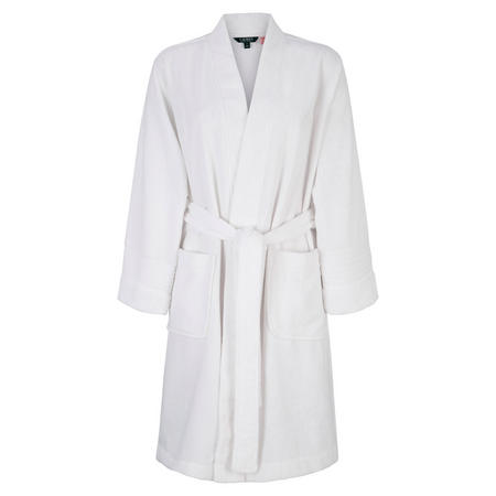 Essential Terry Cloth Robe White