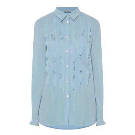 Alare Ruffle Front Shirt