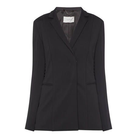 Profumo Lace-Up Blazer Black