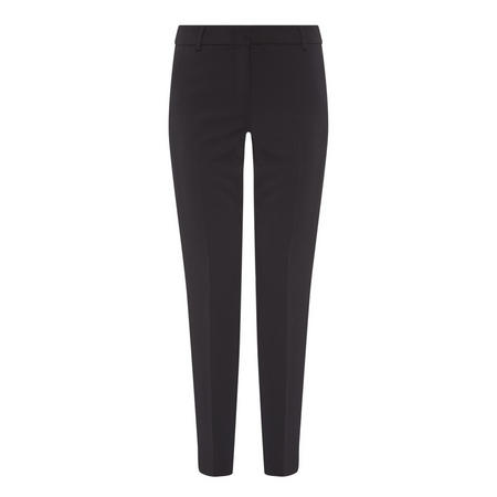 Tapered Regular Trousers Black