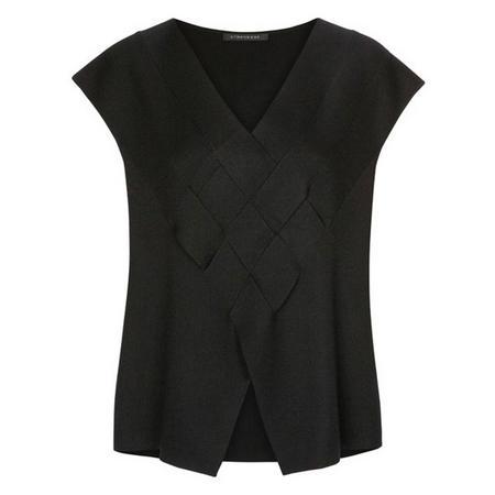 Interwoven Sweater Black