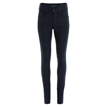 Secret Push-In High Rise Skinny Jeans Black