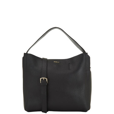 Capriccio Hobo Bag Black