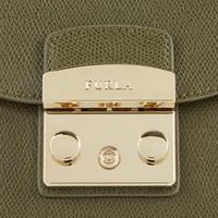 Metropolis Mini Chain Strap Bag Khaki