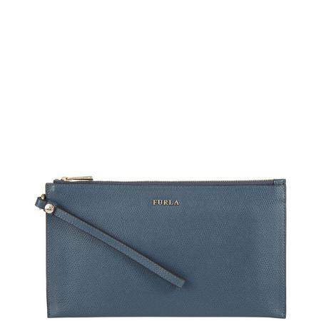Babylon Extra Large Envelope Wallet Blue